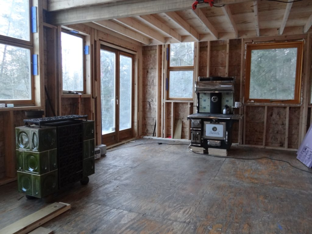 Blue House Construction Stoves