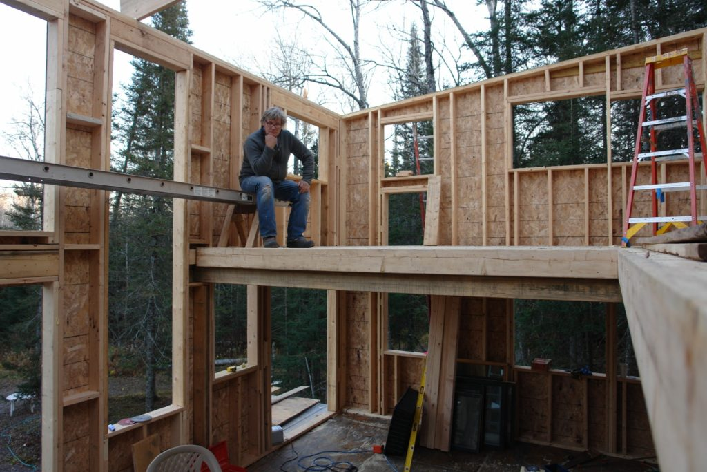 Blue House Construction framing thinking